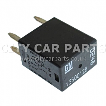 Vauxhall Opel 2008 To 2016 Chevrolet 2005 to 2016 Gm Black Relay 12v 0248 / 13500128